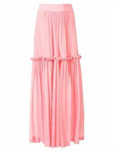 Kitx Wonderwoman ruffle-trimmed skirt - Pink