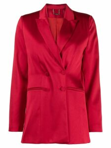 Styland double-breasted blazer - Red
