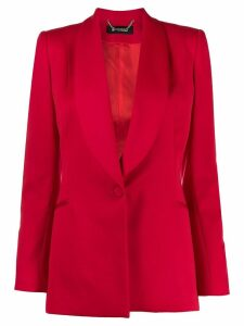 Styland shawl lapel blazer - Red