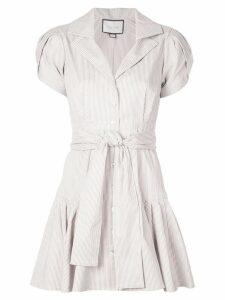 Alexis Haylee striped shirt dress - Brown