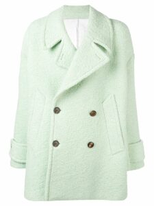 Ami Paris Oversize Peacoat - Green