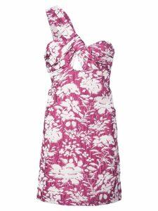 Alexis Livie floral print dress - Pink