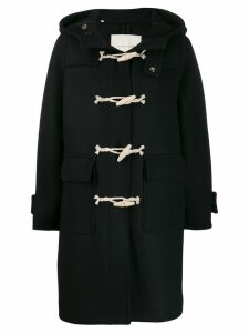 Mackintosh INVERIE Black Wool Duffle Coat LM-1016