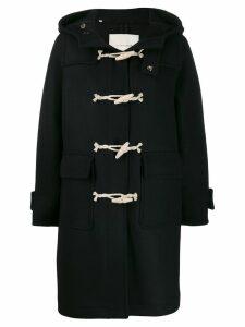 Mackintosh INVERIE Black Wool Duffle Coat LM-1016