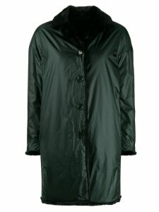 Aspesi reversible raincoat - Green
