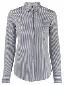 Tommy Hilfiger long sleeved striped shirt - Blue