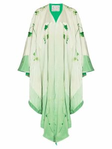 By Walid Conchita embroidered kimono jacket - Floral Light