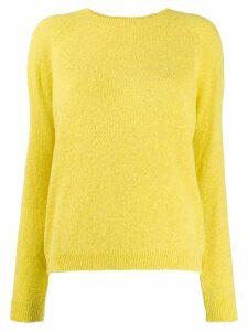 Twin-Set round neck jumper - Yellow