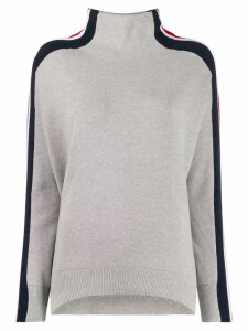 Tommy Hilfiger striped sleeve jumper - Grey