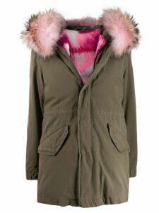 Mr & Mrs Italy hooded parka jacket - Green