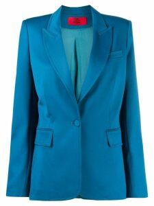 Styland peaked lapel blazer - Blue