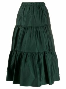 Marc Jacobs ruffled midi skirt - Green