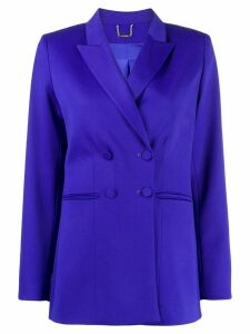 Styland double-breasted peaked lapel blazer - Blue