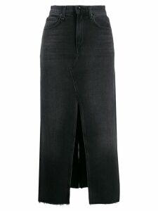 Rag & Bone /Jean high-waisted denim skirt - Black