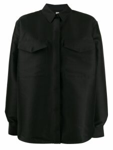 Toteme button collar shirt - Black