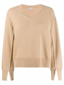 MRZ V-neck pullover sweater - Neutrals