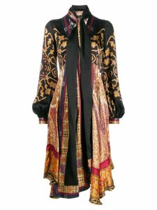 Etro empire line midi dress - Black