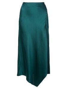 Jonathan Simkhai asymmetric midi skirt - Green