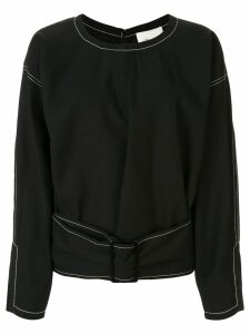 3.1 Phillip Lim belted structured top - Black