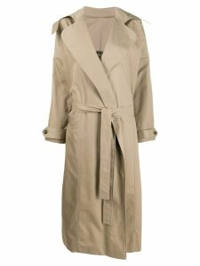Preen By Thornton Bregazzi Savannah trench coat - Neutrals