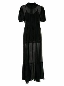 Andrea Bogosian Poli Couture silk gown - Black