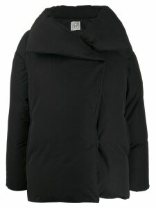 Toteme oversized padded coat - Black