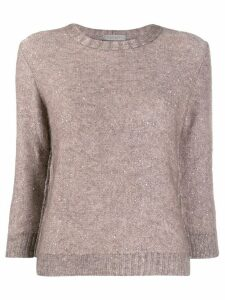 D.Exterior sequin knit jumper - Pink