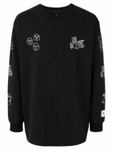 Xander Zhou longsleeved T-shirt - Black