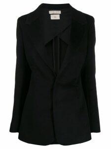 Bottega Veneta deep v-neck blazer - Black