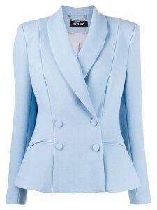 Styland shawl lapel blazer - Blue