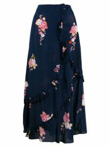 Preen Line Nevah tiered skirt - Blue