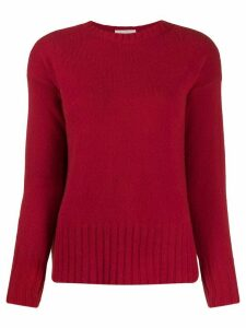 Zanone fitted knit jumper - Red
