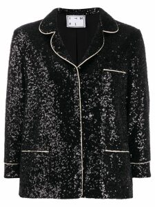 In The Mood For Love Sofia sequin blazer - Black