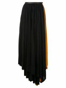 Proenza Schouler Asymmetrical Pleated Skirt - Black