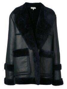 Beau Souci shearling coat - Blue