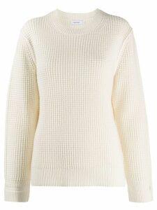 Calvin Klein chunky knit jumper - Neutrals