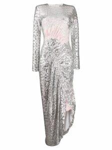 Preen By Thornton Bregazzi Wilda sequin dress - Silver