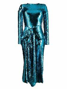 Preen By Thornton Bregazzi Valena sequin dress - Blue