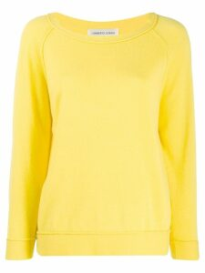 Lamberto Losani raglan sleeve jumper - Yellow