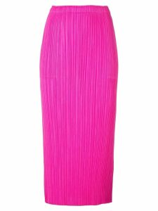 Pleats Please Issey Miyake New Colourful pleated skirt - Pink