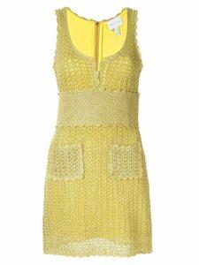 Alice McCall Coney Island crocheted dress - Yellow