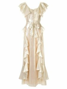 Alice Mccall Astral Plane gown - Gold