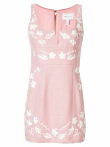 Alice Mccall Pastime Paradise floral mini dress - Pink