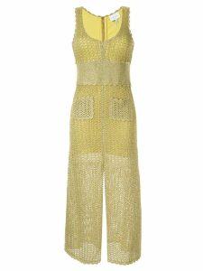 Alice McCall Coney Island midi dress - Yellow