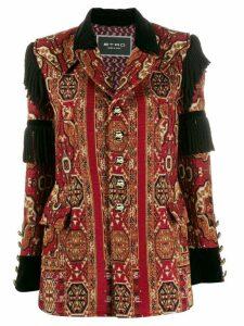 Etro embellished embroidered jacket