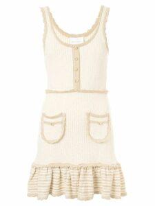 Alice McCall Heaven Help knitted mini dress - White