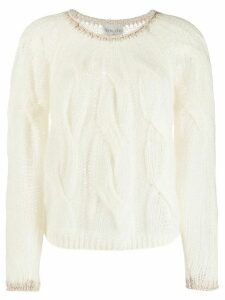 Forte Forte cable knit sweater - Neutrals