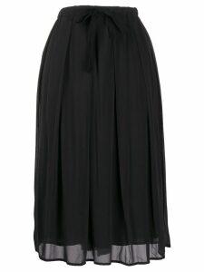 Kristensen Du Nord T367 tie-waist skirt - Grey