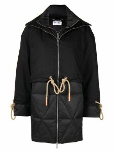 LU MEI Deptford coat - Black