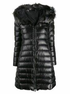 Tatras faux-fur hood padded coat - Black